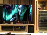 Home Theater com TV giratória